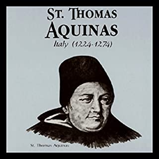 St. Thomas Aquinas audiobook cover art