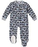Nautica Boys' Toddler Blanket Sleeper, Gray Print, 3T