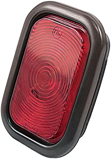 "Kaper II 1T-V-1016R Red 3"" x 5"" Stop/Turn/Tail Light"