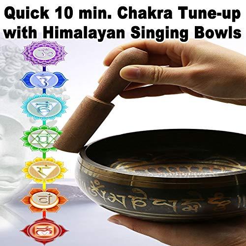 Quick 10 Min. Chakra Tune-Up with Himalayan Singing Bowls