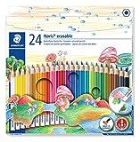 Staedtler 14450NC24 - Lápices de colores (24 unidades), colores surtidos