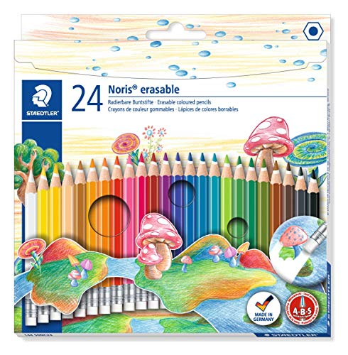 Set 144 50NC24 pencils 24 color erasable Staedtler Norris Club (japan import) by Staedtler
