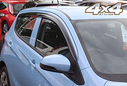Autoclover Set Di Deflettori D'Aria Per Vauxhall Viva Opel Karl, 4 Pezzi