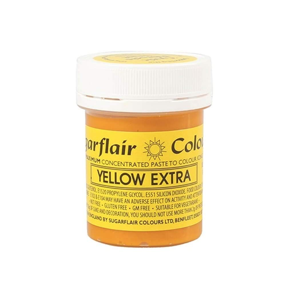 Sugarflair Max Courier shipping free shipping 73% OFF YELLOW ExTRA Concentrated Food Colouring Paste Maximu