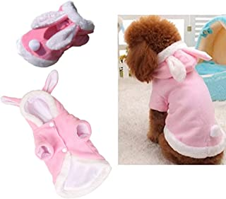 Halloween dog Costumes Easter Bunny clothes christmas puppy hoodies pet suit for small dogs cats
