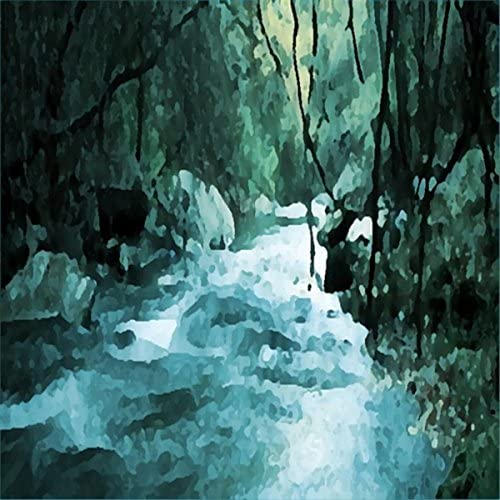 Rushing Woodland Stream Over a Waterfall, Mountain Stream & Peaceful Rolling Stream
