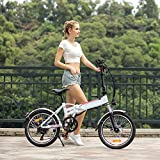 BIKFUN Elektrofahrrad, 20 Zoll E-Bike, Lithium-Akku - 3