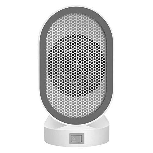WYW 400W Mini Calefactor Eléctrico Cerámico Baño,Calefacción Eléctrica Silenciosa Bajo Consumo, Portátil Calefactores Aire Caliente Pequeño,2