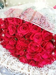 春ぼうし 赤バラ60本の花束 還暦祝い 誕生日のお祝い 結婚記念日のお祝い 敬老の日のお祝い バレンタインデー 記念日のプレゼント