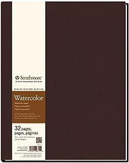 Strathmore 400 Series Hardbound Watercolor Art Journal,  11x14 16 Sheets - STR-467-11