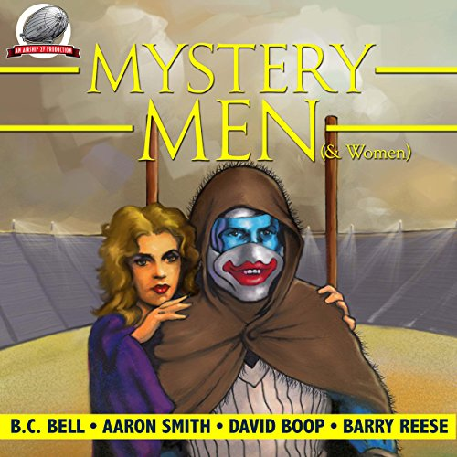 Mystery Men (& Women) Volume 1 audiobook cover art