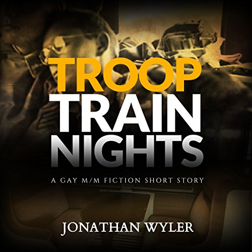 Troop Train Nights audiobook cover art