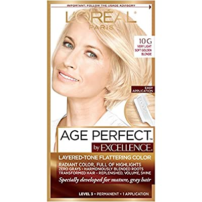 L'Oreal Paris ExcellenceAge Perfect Layered Tone Flattering Color Collection