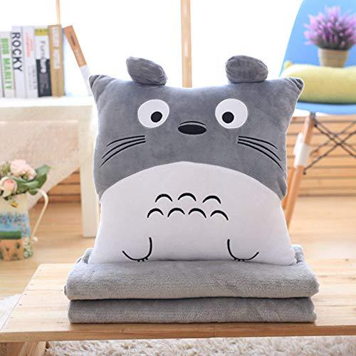 Cartoon Dragon Cat Kissen, Plüschpuppe, Decke drei in einem