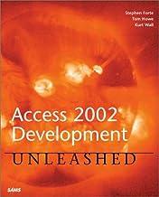 Access 2002 Development Unleashed