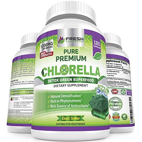 Fresh Healthcare Premium Chlorella Capsules