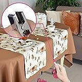 ibvenit 4er Set Tischdeckenbeschwerer für draußen Tischtuchklammern Tischtuchbeschwerer mit Klemmkraft Tischdeckenbeschwerer Vorhang Beschwerer Flamingo Tischdecken Gewichte - 4
