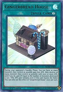 Yu-Gi-Oh! - Gingerbread House - BLHR-EN004 - Ultra Rare - 1st Edition - Battles of Legend: Hero's Revenge