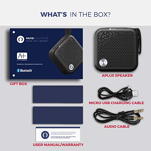 Wireless Speaker for iPhone Mini Bluetooth Speaker with FM Radio iPad an Elegant Small Speaker with a Big 5W Sound Red /& Black Smartphone Pocket Size Portable