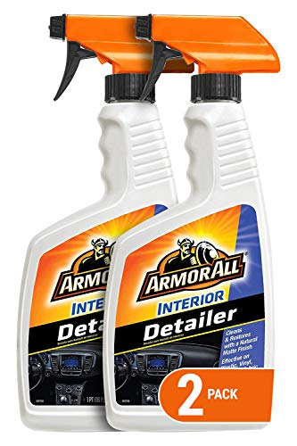 Armor All Interior Car Cleaner Formula, Detailer for Cars, Truck, Motorcycle, 16 Fl Oz, Pack of 2, 18726