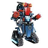 Bloque de Construcción Robot para Niños, 349 piezas Bloques DIY Montaje Robot RC 2.4GHz Recargable Juguetes de Control Remoto Educativo Juguetes Creativos de Robot Bricolaje Mejor Regalo para Niños