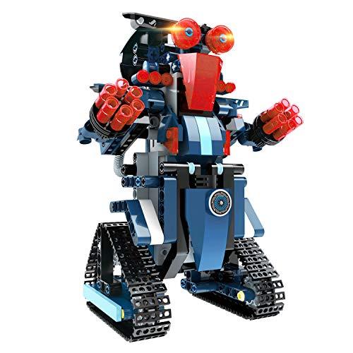 Costruzioni Robot per Bambini, Blocchetto di Costruzione 349pz, Ricaricabile Telecomandato Robot Insieme Creativo Divertente Blocchetti Educativo del Giocattolo STEM per Età Superiore ai 5 Bambine
