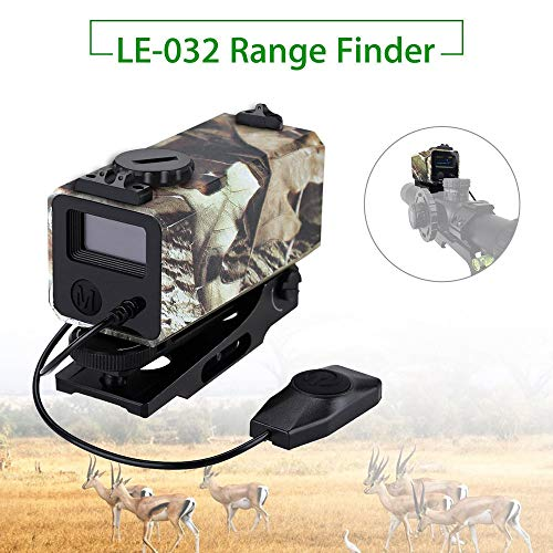 Ruoxiang LE032 Jagd-Entfernungsmesser Outdoor Forest Observe Wildlife Hunting Tool Laser-Ziel-Entfernungsmesser Night Hunting Field Telescope