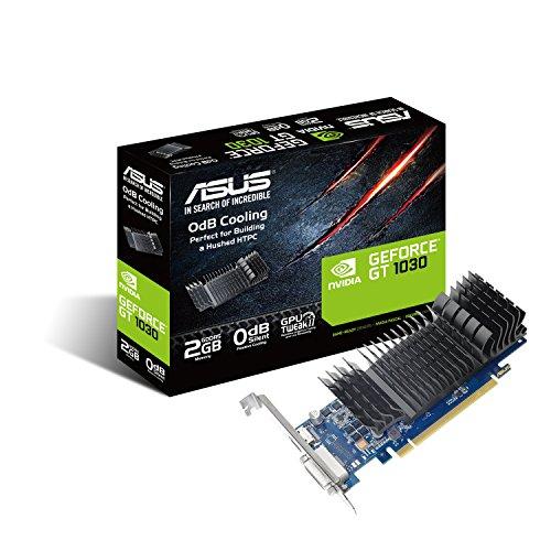 ASUS GT1030-SL-2G-BRK GeForce GT 1030 2GB GDDR5 - Tarjeta gráfica (NVIDIA,...
