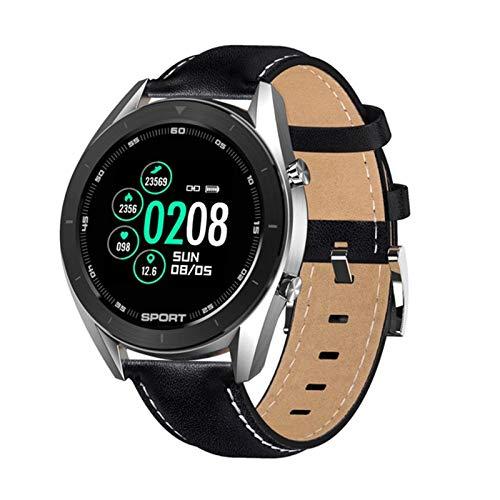 YYZ Nuevo DT99 Smart Watch IP68 Impermeable Redondo Pantalla De Alta Definición ECG Detección Reemplazable Smartwatch Fitness Tracker para Hombres,C