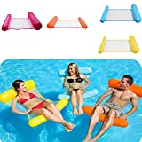 Premium Swimming Pool Float Hammock Multi-Function Swimming Pool Floating Hammock Lounger Inflatable Raft Pool Float