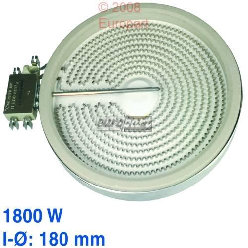 Heizkörper 180mmØ HiLight 1800 Watt - EGO 10.58113.032 1058113032