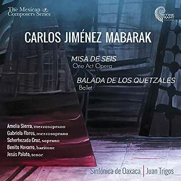 Carlos Jiménez Mabarak: Misa de Seis - Balada de los Quetzales