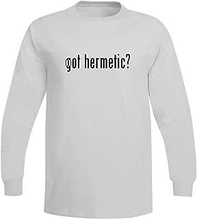 got Hermetic? - A Soft & Comfortable Men's Long Sleeve T-Shirt