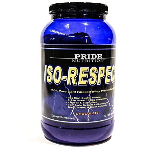 #1 Whey Protein Isolate Shake- Iso-Respect Protein Chocolate 30 Servings