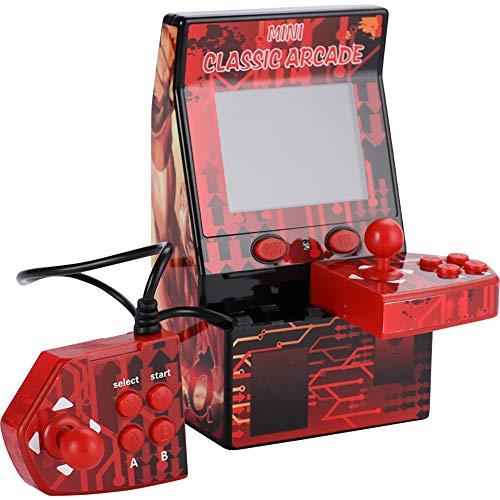 IDE Play Macchina Mini Arcade Bollard Pac-Man Arcade Retro-Mini del Gioco della Galleria 2.5Inch Classica Macchina da Gioco Portatile per Bambini con Schermo Eye Protected