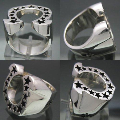 『馬蹄の指輪 ホースシューリング [15号] シルバー925 銀製アクセサリー』の3枚目の画像