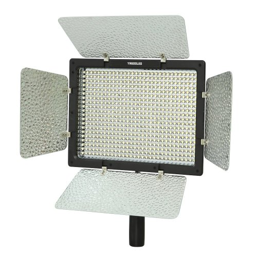 Yongnuo YN600L 600 LED Studio Video Light Lamp Kleurtemperatuur Instelbaar voor Canon 750D 700D 100D 1200D Nikon D7200 D7100 D7000 Camcorder DSLR + Power Adapter Remote
