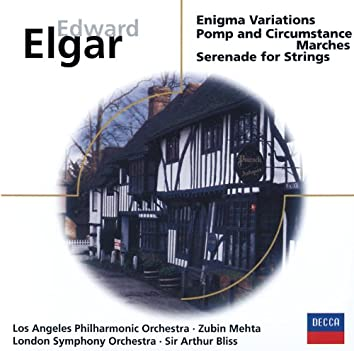 Elgar: Enigma Variations; Pomp & Circumstance Marches;  Serenade for Strings