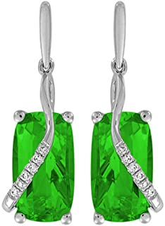 JJGL 925 Sterling Silver Earrings Inlaid Zircon Dangle Earrings Wedding Party Gifts