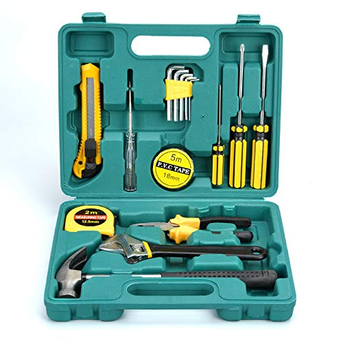 THG Tools DT9706 Original General Repair Hand Tool Set with Tool Box Storage Case