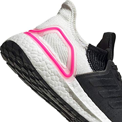 adidas Women's Ultraboost 19 W Running Shoes, Black (Core Black/Core Black/FTWR White Core Black/Core Black/FTWR White), 8 UK