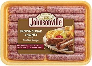 Johnsonville, Brown Sugar and Honey Breakfast Sausage Links, 12 oz (Frozen)