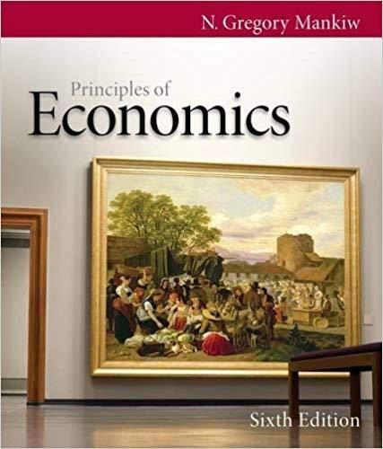 [0538453052] [9780538453059] Principles of Economics (Mankiw's Principles of Economics) 6th Edition-Hardcover