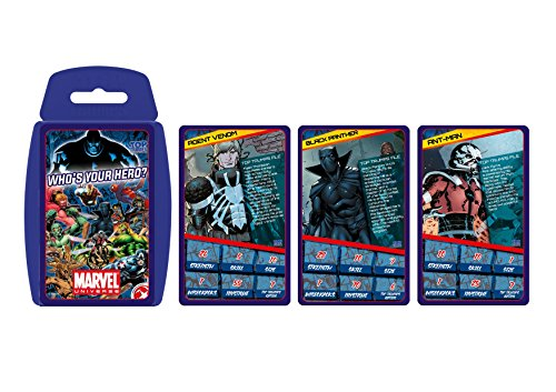 Marvel Universe Top Trumps Card Game