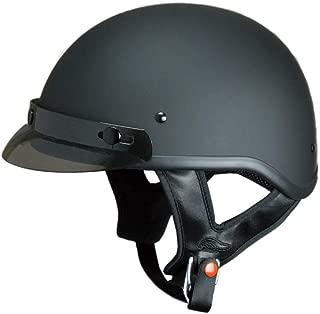 Fulmer 302 Revel Solid Half Helmet Matte Black SM