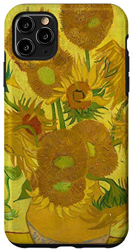 iPhone 11 Pro Max Vincent Van Gogh Sunflowers | Aesthetic Vintage Floral Art Case