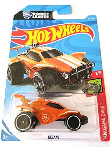 Hot Wheels 2019 HW Game Over Rocket League Octane 92/250, Orange