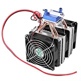 Dispositivo de enfriamiento del enfriador de agua del ventilador del refrigerador del radiador de refrigeración de semiconductores termoeléctricos para el tanque de peces(180W)