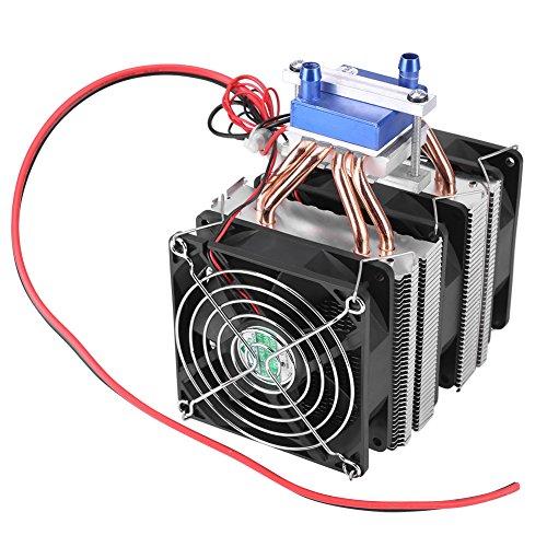 Thermoelektrischer Kühler Halbleiter Kühlung Semiconductor Refrigeration Lüfter Wasserkühler Kühlgerät für Aquarium(10A (120W))