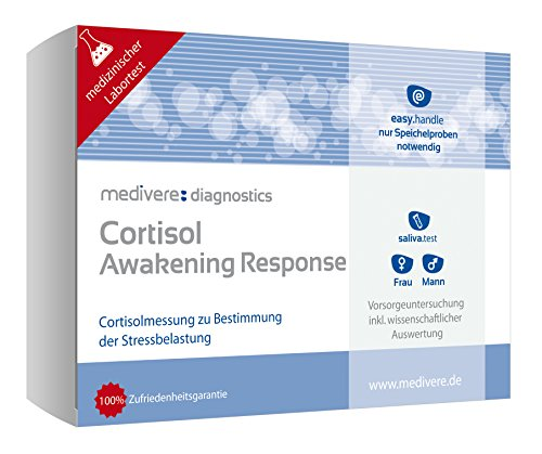Medivere Cortisol Awakening Response (CAR) Speicheltest